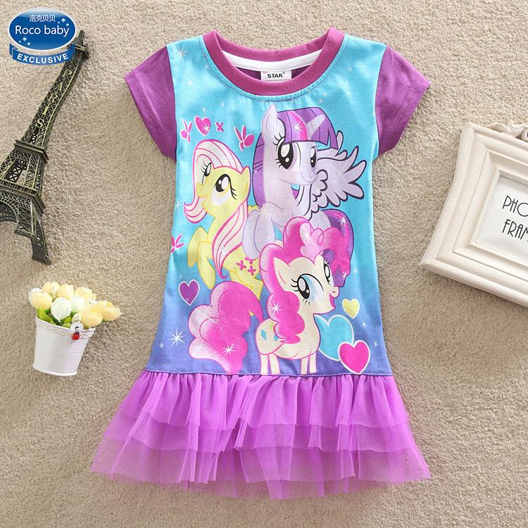 Summer dress baby girl cartoon